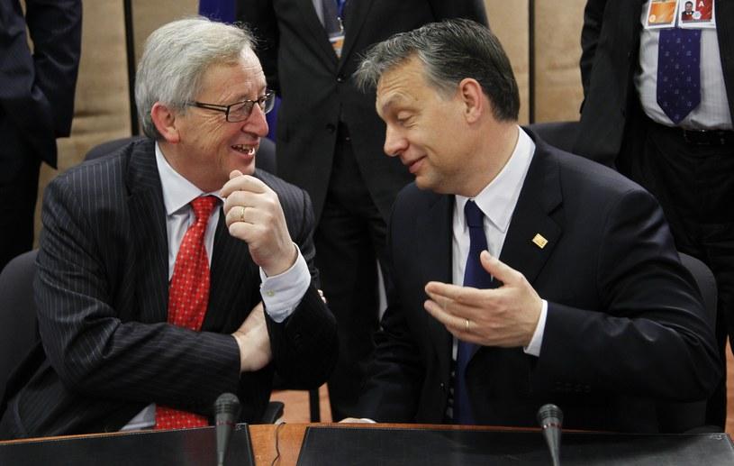 Victor Orban i Jean-Claude Juncker /AFP