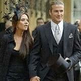 Victoria i David Beckhamowie /AFP