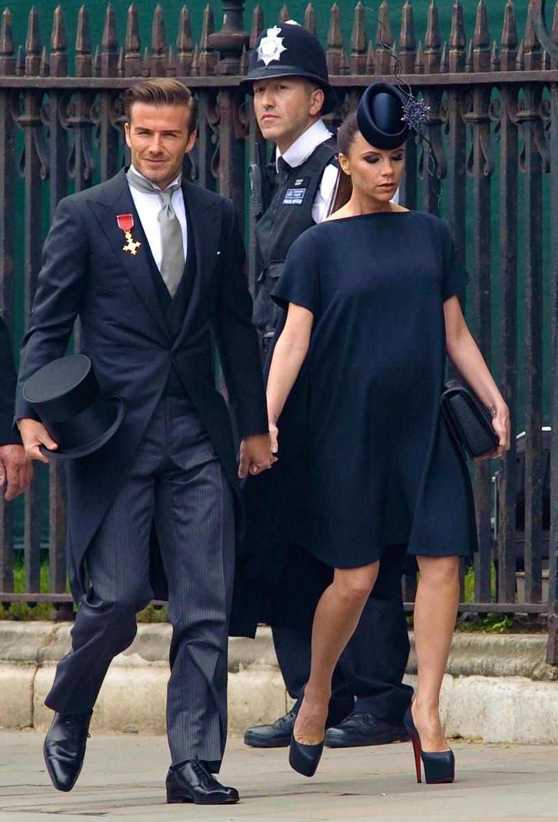 Victoria z mężem Davidem  /Getty Images/Flash Press Media
