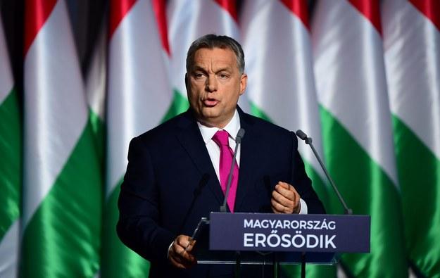 Viktor Orban, premier Węgier /AFP