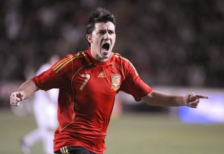 Villa został bohaterem meczu /AFP