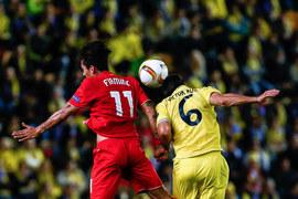 Villareal - Liverpool w LE. Zdjęcia
