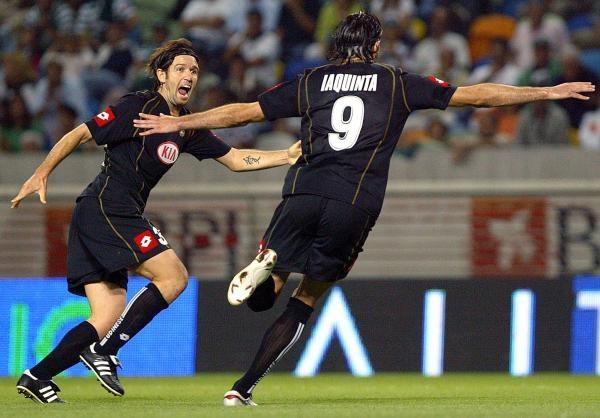 Vincenzo Iaquinta wrócił i strzelił gola... /AFP