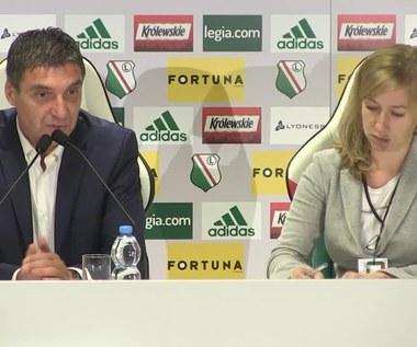 Vinko Marinović: Legia niczym mnie nie zaskoczyła. Film