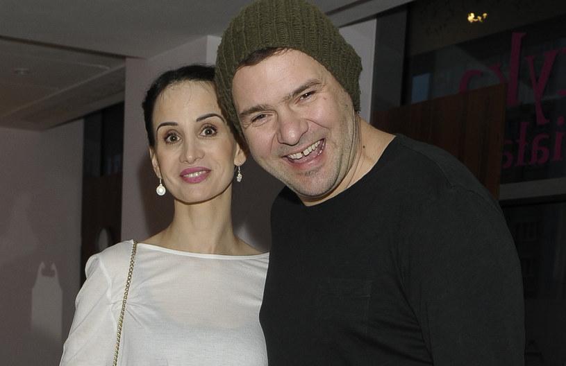 Viola Kołakowska i Tomasz Karolak /Euzebiusz Niemiec /AKPA