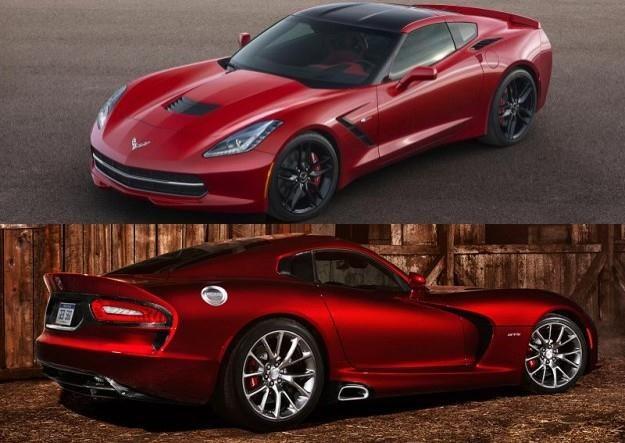 Viper czy Corvette? /