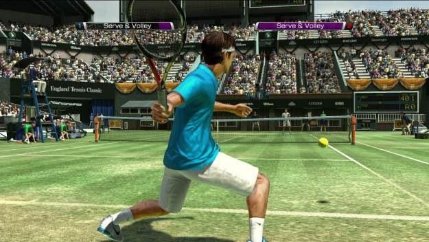 Virtua Tennis 4 daje możliwość przejęcia kontroli nad kilkudziesięcioma tenisistami /Informacja prasowa