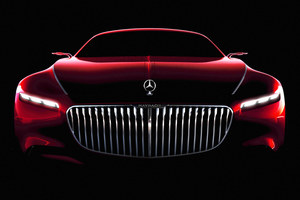 Vision Mercedes-Maybach 6 na pierwszym wideo
