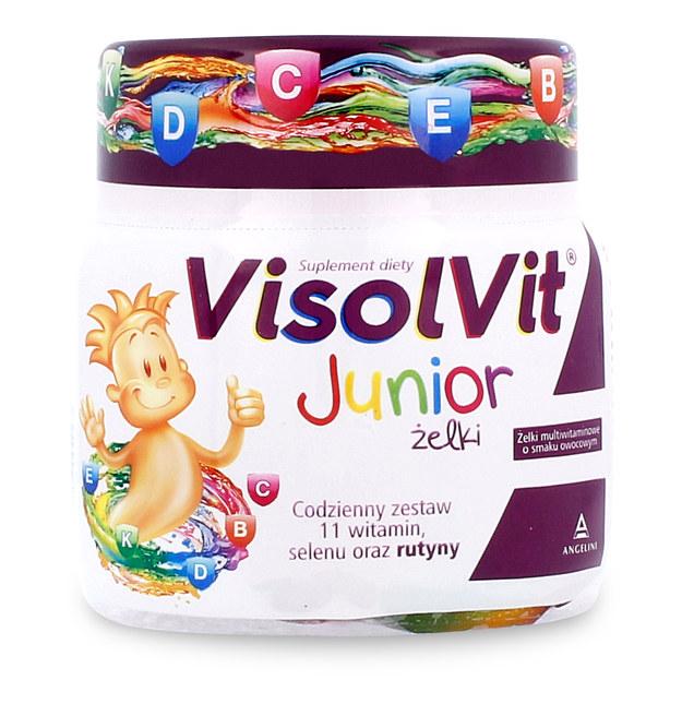 VisolVit Junior Żelki – W zdrowym ciele zdrowy duszek!