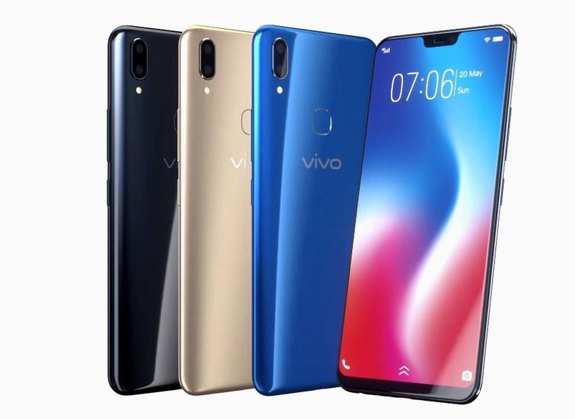 Vivo V9 kosztuje w przeliczeniu około 1200 złotych /materiały prasowe