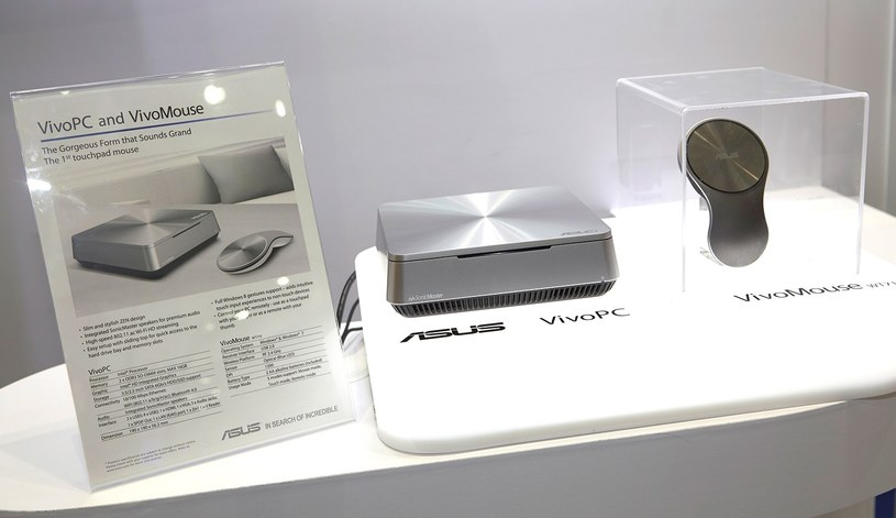 VivoMouse i VivoPC - zdjęcie wykonane na targach Computex 2013 /materiały prasowe