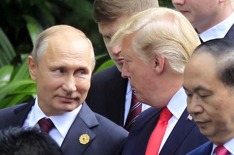 Vladimir Putin i Donald Trump /Hau Dinh /East News