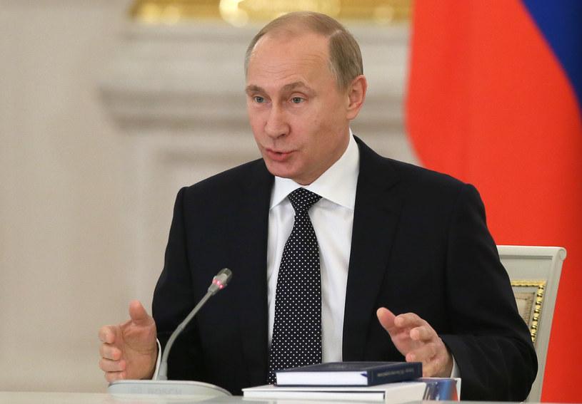 Vladimir Putin, zdj. ilustacyjne /SERGEI ILNITSKY / POOL / AFP /AFP