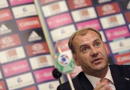 Vladimir Weiss - nowy trener reprezentacji Słowacji /AFP