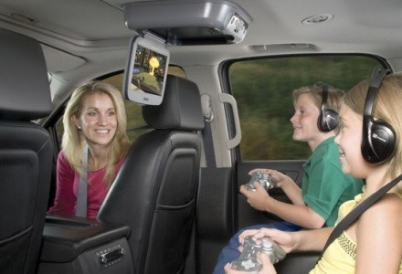 VOD10PS2 na pokładzie samochodu /materiały prasowe