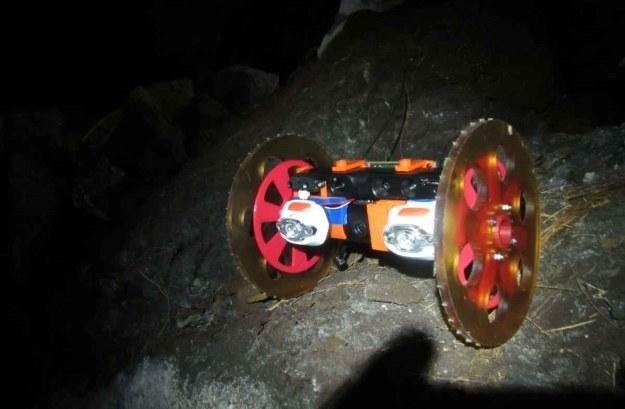 VolcanoBot 1.   Fot. NASA/JPL-Caltech /NASA