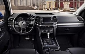 Volkswagen Amarok - wreszcie zobaczyliśmy wnętrze