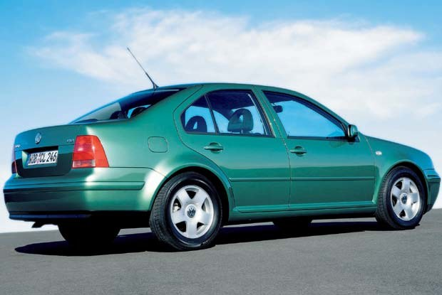 Volkswagen Bora FSI (kliknij) /INTERIA.PL