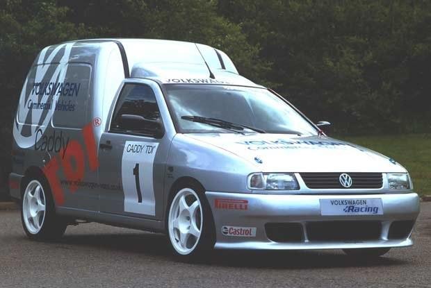Volkswagen Caddy TDI (kliknij) /INTERIA.PL