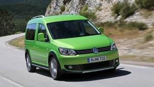 Volkswagen Caddy w uterenowionej wersji Cross