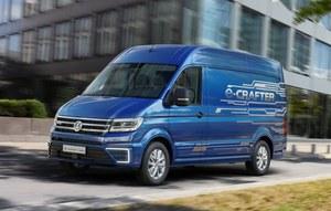 Volkswagen e-Crafter - elektryczny dostawczak