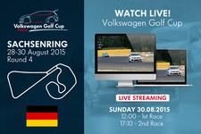 Volkswagen Golf Cup na żywo w Interia.pl. Dzisiaj! W południe!