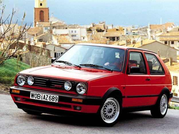 """Volkswagen Golf II G60 - popularny model otrzymuje sprężarkę spiralną """"G"""". 1.8 - 160 KM. /Volkswagen"""