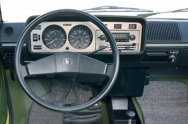 Volkswagen golf pierwszej generacji /