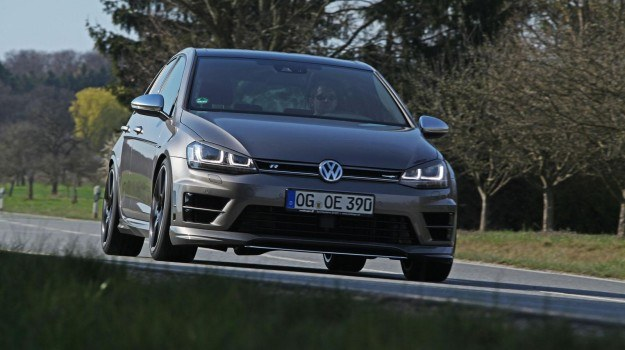 Volkswagen Golf R po tuningu firmy Oettinger /Oettinger