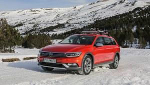 Volkswagen Passat Alltrack - pierwsza jazda.