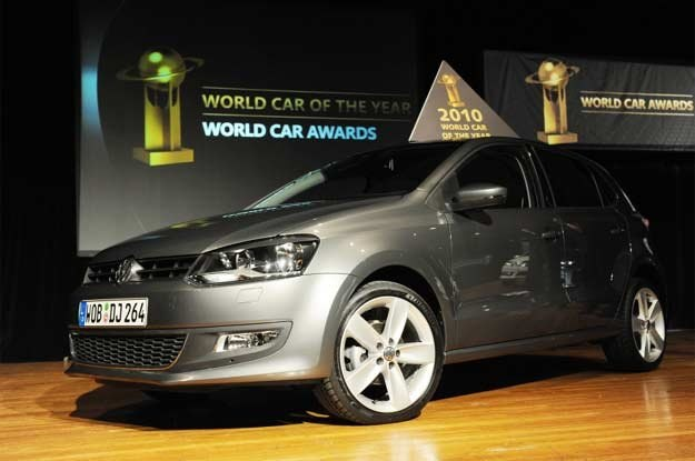 Volkswagen polo został wybrany najlepszym samochodem na świecie /AFP