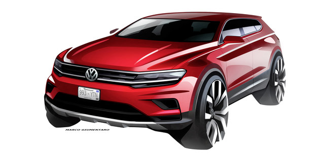 Volkswagen Tiguan Allspace /Volkswagen