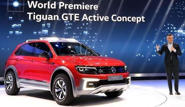 Volkswagen Tiguan GTE Active Concept /AFP