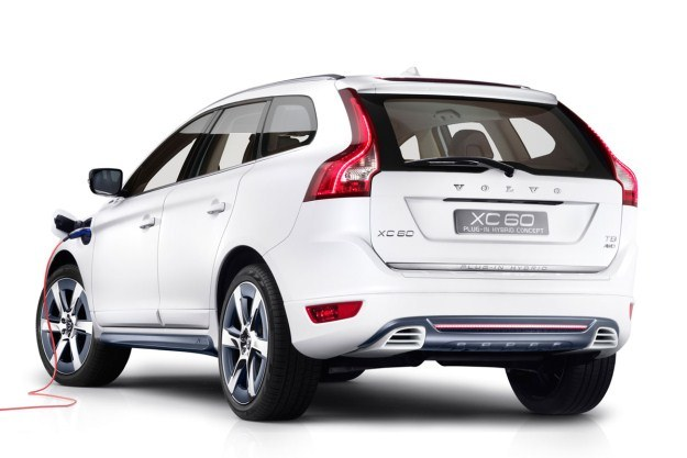 Volvo XC60 plug-in hybrid concept /