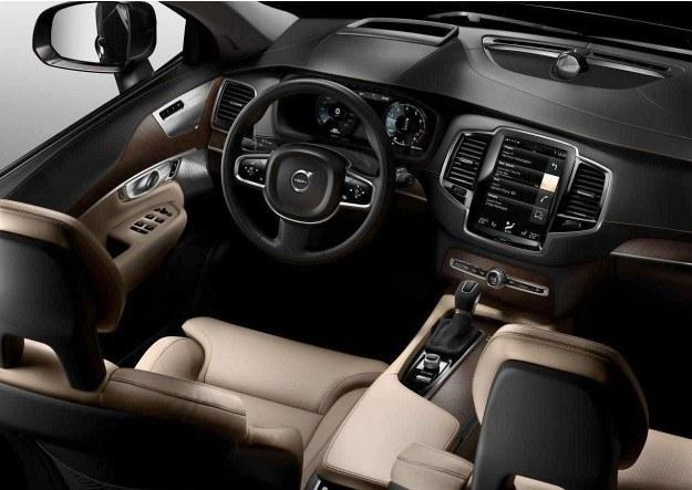 Volvo XC90 - wnętrze (2015) /Volvo