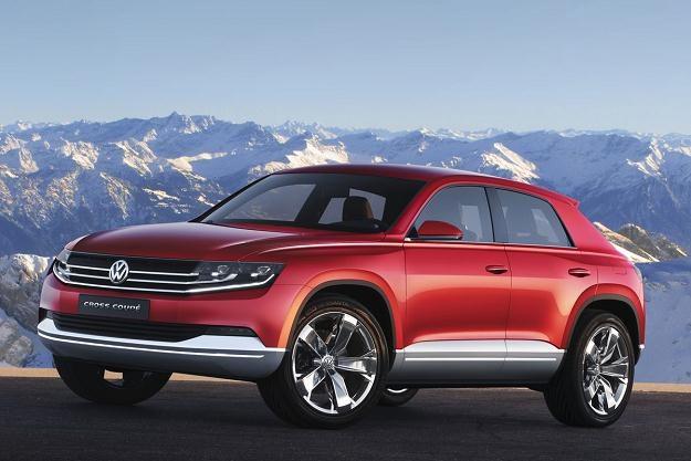 VW cross coupe concept. Taki będzie touareg CC? /