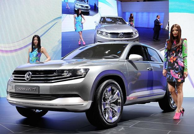Vw cross coupe w Tokio /AFP