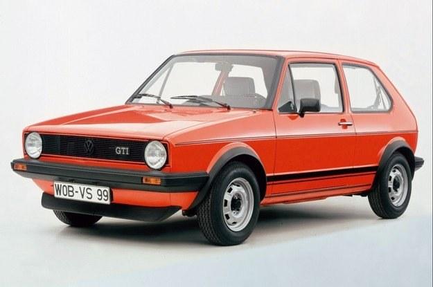 VW gofl I generacji to dzieło Italdesign /