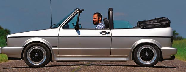 VW Golf I Cabrio /Motor