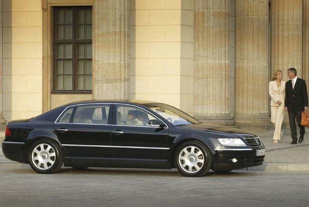 VW Phaeton (kliknij) /INTERIA.PL