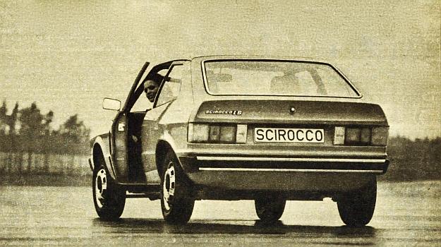 VW Scirocco to coupe trójdrzwiowe o dość przyjemnej sylwetce, mieszczące wygodnie 2 osoby, a na krótsze trasy również 2 pasażerów na siedzeniu tylnym. /Volkswagen