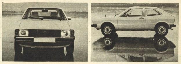 VW Scirocco z przodu i z boku. /Volkswagen