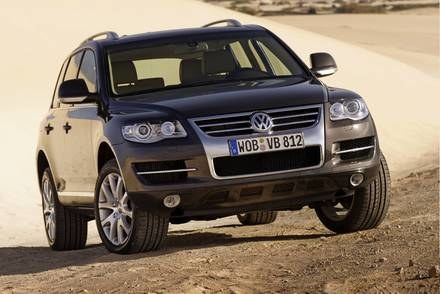 VW Touareg / Kliknij /INTERIA.PL