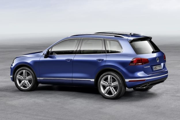 VW Touareg po liftingu /