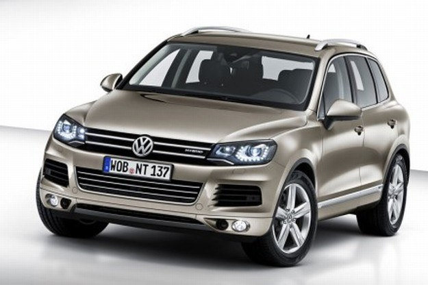 "VW touarego - kandydat do tytułu ""Truck of the year"" /"