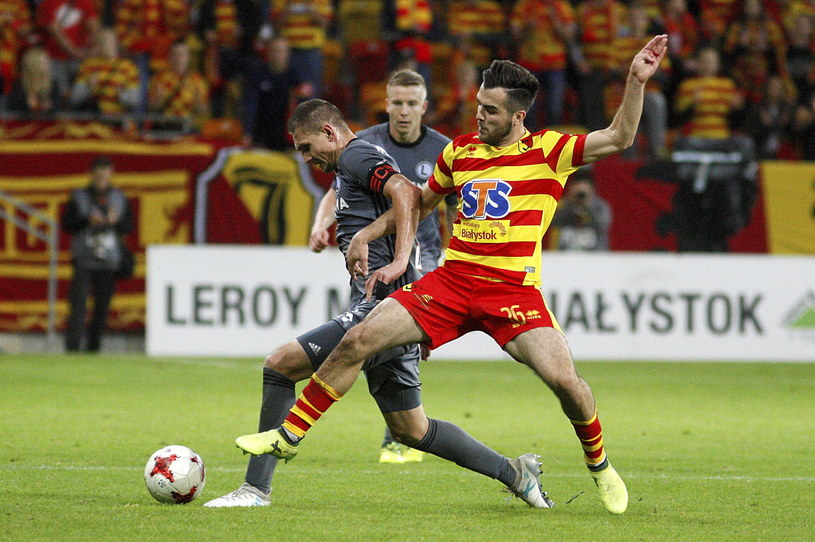 W 10. kolejce Jagiellonia pokonała Legię 1-0 /Fot. Artur Reszko /PAP