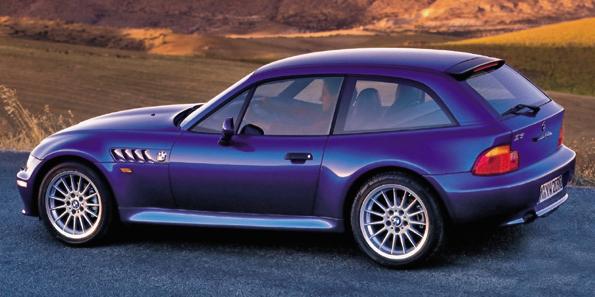 W 1998 roku do gamy dołączyło coupe (oznaczenie E36/8). /BMW