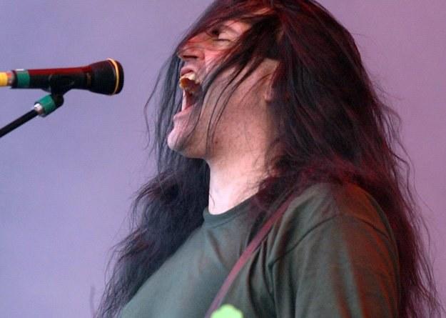 W 2007 roku Peter Steele i Type O Negative zagrali na Przystanku Woodstock /AFP
