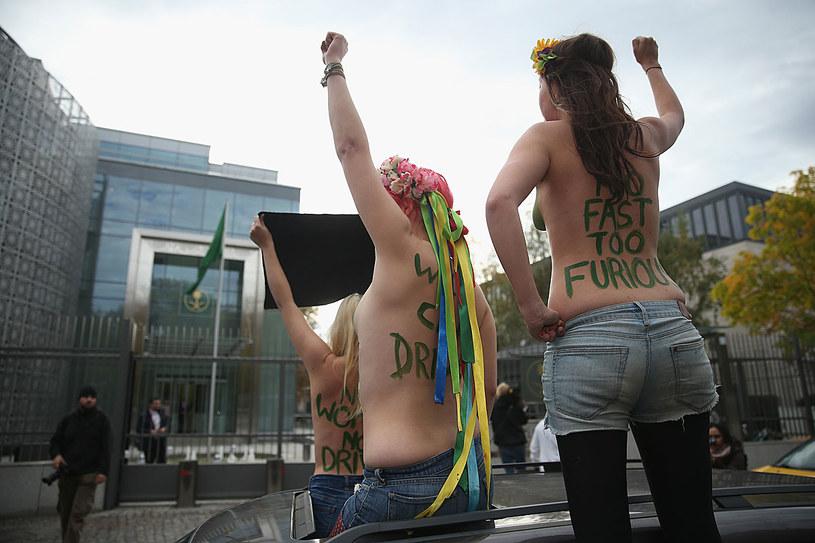 W 2008 roku powstał Femen, założony przez Annę Hucuł, Saszę Szewczenko i Oksanę Szaczko. Ich organizacja miała się skupić na walce o prawa kobiet /Sean Gallup /Getty Images