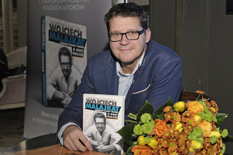 """W 2015 roku ukazała się książka """"Rozmowy o życiu i teatrze. O gust walczę"""" - wywiad-rzeka z aktorem /Euzebiusz Niemiec /AKPA"""